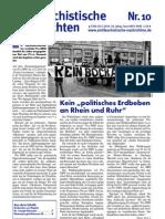 antifaschistische nachrichten 2010 #10