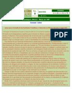Los institutos científicos en México