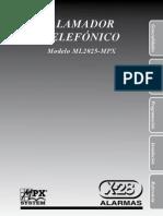 x 28 Manual Ml2025 Mpx