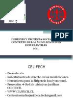 11-10-22 Derecho y Protesta Social en El Contexto de Las Movilizaciones Estudiantiles 2011