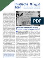 antifaschistische nachrichten 2010 #25 - #26
