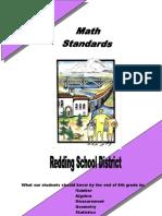 Math Standards Grade 6