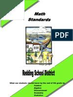 Math Standards Grade 5