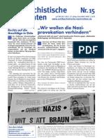 antifaschistische nachrichten 2011 #15