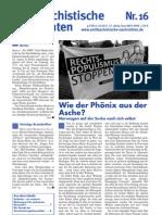 antifaschistische nachrichten 2011 #16