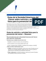 Guia Prevenbcion Del Cancer