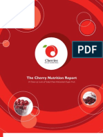 Cherry Nutritional Report
