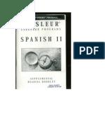 Spanish II Booklet