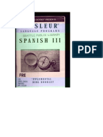 Spanish III Booklet