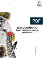 Solucionario Guía Anual Área y volumen de cuerpos geométricos 2011 OK