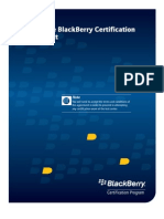 Blackberry Certification Candidate Agreement