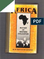 Africa Mother of Western Dr Yosef Ben Jochannan
