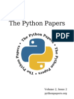 The Python Papers Volume 2, Issue 2