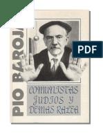 Baroja Pio - Comunistas Judios Y Demas Ralea