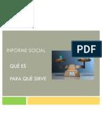 Informe Social Parte i y II