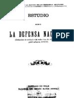 Estudio sobre la Defensa Nacional (Colección de artículos de redacción de ''El Mercurio'' publicados en 1916-17). (1917)