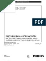 Philips P89C51RD2 6