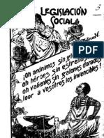 Legislación social. (1931)