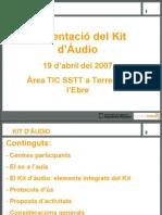 Kit AudioTE