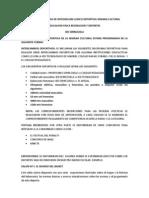 Proyecto Jornada de Integracion Ludico Deportiva Semana Cultural