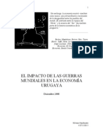 El impacto de las Guerras Mundiales en la economía Uruguaya