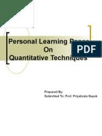 Quantitative Technique