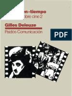 Deleuze Gilles - La Imagen Tiempo - Estudios Sobre Cine 2