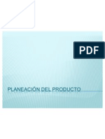 Planeacion de Un Producto