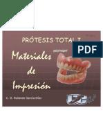 PT1 122 Materiales de Impresión 1 Elásticos