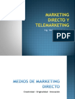Capítulo 2 - Medios del Marketing Directo