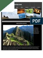 """Machu Pichu History""""- Peru TRAVEL"""