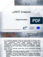 6. SWOT Analysis Opportunities