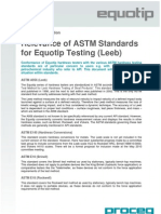 Equotip ASTM Standards for Leeb Testing E 2010.04.23