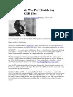 Vladimir Lenin Was Part Jewish, Say Declassified KGB Files
