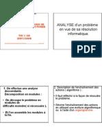 M09 TECHNIQUES DE PROGRAMMATION STRUCTUREE  PARTIE1