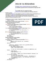 M12 PROGRAMMATION ORIENTEE OBJET