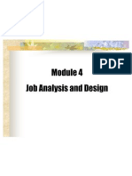 Module4 Job Analysis & Design