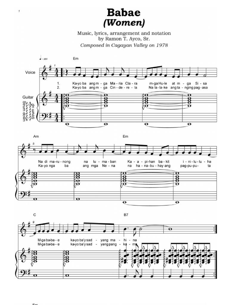 maria clara song lyrics