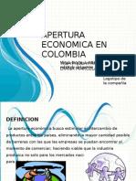 Apertura Economica en Colombia