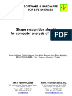 Shape Recognition Algorithm for Computer Analysis of Ecg Data