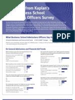2010 b School Admissions Officers Survey Tcm58 27854