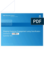 Introduction Gamification Customer Engagement Sept 2011