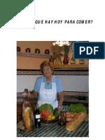 COCINA ESPAÑOLA PARA PRINCIPIANTES ¿ABUELA QUE HAY HOY PARA COMER?