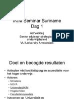 IKIM Seminar Surinamedag1