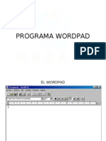 Enero 2º Kinder WordPad