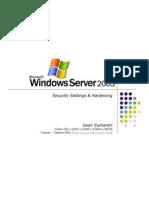 Windows 2003 Security