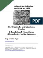 Quellenkunde Zur Indischen Geschichte Bis 1858 - Me Gas Thanes India