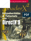Introductions and Tutorials With DirectX 9