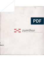 Zumthor Spirit of Nature Wood Architecture Award 2006()