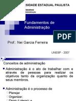 [Administracao de Empresas II] Aula 2, Nei Garcia